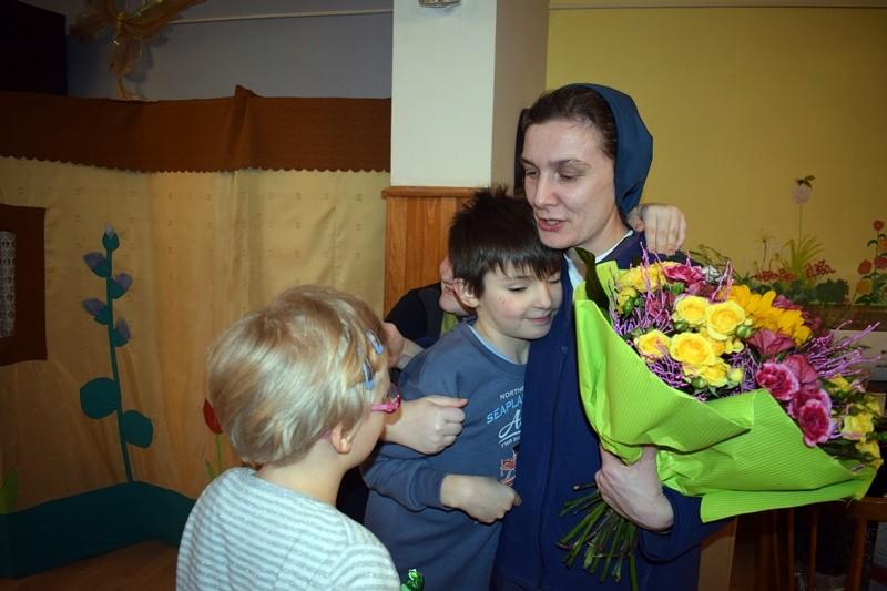 Bukiet najwspanialszych życzeń dla Siostry Katarzyny